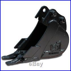 6 Rhinox Mini Digger / Excavator Bucket For Bobcat E08 / E10