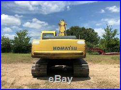 99 Komatsu PC200 Excavator For Sale EZ Financing Shipping Video in Texas