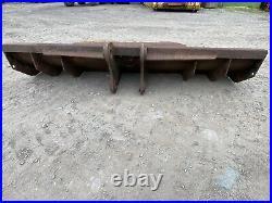 9ft Excavator digger Dozer Tractor Soil Striping Blade bucket, £400 + Vat