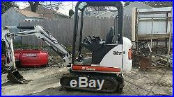 Excavators » Blog Archive » BOBCAT 322 MINI EXCAVATOR PRICED TO SELL