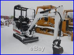 BOBCAT 323-J EXCAVATOR NEW PAINT LOW HRS WORK READY IN PA