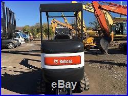 BOBCAT 324S MINI EXCAVATOR KABOTA DIESEL RUBBER TRACKS 12 DIGGING BUCKET