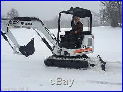 BOBCAT 325 HYDRAULIC EXCAVATOR RUBBER TRACK BOB CAT 2000 HOURS 3 RD VALVE