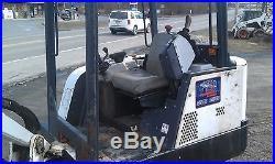BOBCAT 325 HYDRAULIC EXCAVATOR RUBBER TRACK BOB CAT 2162 HOURS