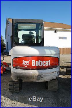 BOBCAT 334-G COMPACT EXCAVATOR