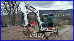 Bobcat 435 Excavator Cab Heat A/c Thumb Ready 2 Work In Pa! We Ship Nationwide
