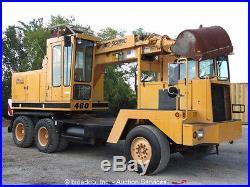 Badger 460 6x4 Mobile Excavator Aux Hyd Cummins Digger E-Stick
