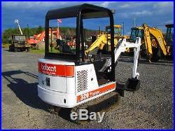 Bobcat 320C Farm Tractor Dozer Mini Excavator