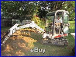 Bobcat 323 mini excavator