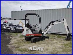 Bobcat 324 Mini Excavator (2011) Low Hours