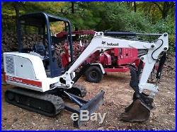 Bobcat 325 Mini Excavator 2550 hours New Tracks/ New Paint
