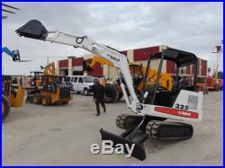 Bobcat 325 Mini Excavator Kubota Diesel 2,458 Hours Plumbed Stick