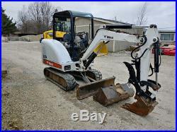 Bobcat 325 Mini Excavator Used