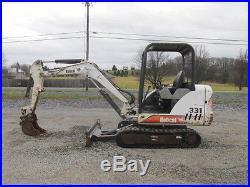 Bobcat 331D Mini Excavator