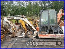 Bobcat 331 Mini Digger Excavator dismantling for parts! Dipper ram only