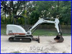 Bobcat 331 Mini Excavator Kubota Diesel Engine Ready To Work