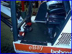 Bobcat 331 Mini Excavator New Tracks No issues Just serviced