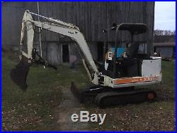 Bobcat 331 Mini Excavator No Reserve