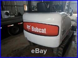 Bobcat 334 Mini Track Excavator