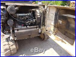 Bobcat 335G Mini Excavator RUNS MINT 4600 HRS FULL CAB HEAT A/C 335-G