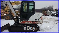 Bobcat 341D Mini Excavator