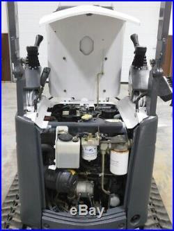 Bobcat 418 Compact Trackhoe Mini Excavator Lightly Used Dealer demo LOW HRS