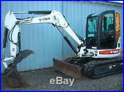 Bobcat 435 Mini Excavator Very Low Hours, Loaded. 430 E45 E50 E35 337 341 E55