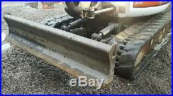 Bobcat 435 Mini Excavator loaded Heat/ac Thumb blade Radio