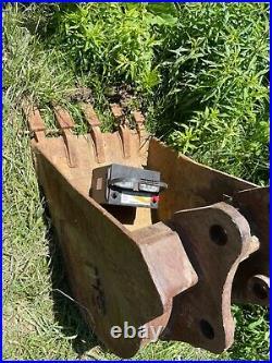 Bobcat 442 excavator