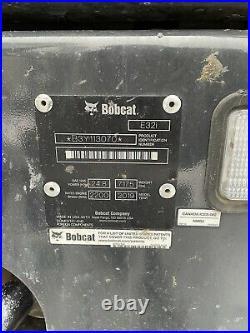 Bobcat E32i Mini Excavator, 2019, Thumb, Cab, Heat/AC, 347 Hrs