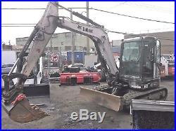 Bobcat E63 Enclosed Hvac Work Ready Bucket