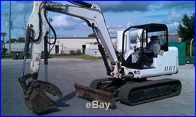 Bobcat Excavator 2006 w/ Shear MSD7R