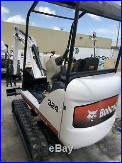 Bobcat Mini Excavator