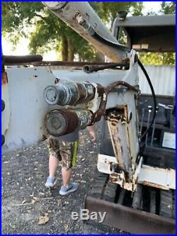Bobcat X320 Kubota Diesel Rubber Tracks Plumbed Mini Excavator Joystick Control
