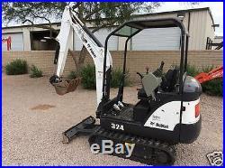Bobcat excavator 324