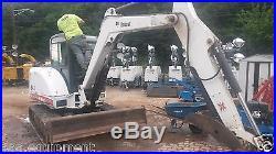 Bobcat excavator 341