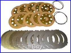 Brake Plates And Seals Set For Project 9 & 12 Jcb Parts 3cx 4cx