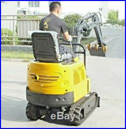 Brand NEW 1 Ton Mini Crawler Excavator Bulldozer Shipped FREE