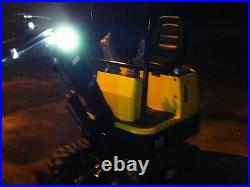 Brand New 1 Ton Mini Excavator 16 Bucket Attachment Rubber Track Gas USA Engine