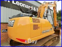 CASE CX130C LC Crawler Excavator / Year 2015 / Hours 5018
