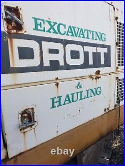 CASE DROTT 40 Excavator WithTilt & with Claw Bucket Runs Great Demo Machine Diesel