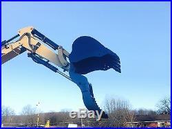CATERPILLAR 304CR RUBBER TRACKED MINI EXCAVATOR BLADE DIESEL HYDRAULIC THUMB