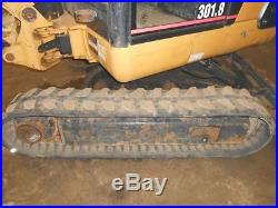 CAT 301.8 FULL CAB HYDR THUMB REMOTES FRONT BLADE 21OO HRS IN PA