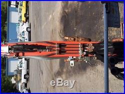 CITY SURPLUS 2001 SCAT TRAK MINI EXCAVATOR NO RESERVE