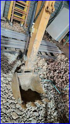 Case CX37 Mini Excavator 500 hours Work Ready barn kept