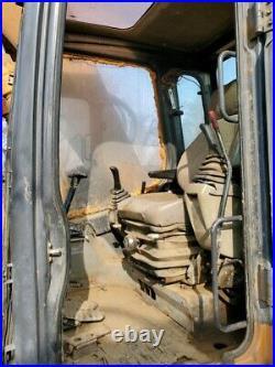 Case CX 135SR Excavator