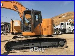 Case Cx225sr Excavator Very Low Hours, Just Had Major Service