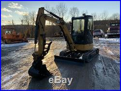 Cat 303.5 With Cab And Thumb