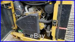 Caterpillar 287b Skid Steer Heat A/c Loftness Mulcher! Financing Available