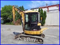 Caterpillar 303CR Excavator Enclosed Cab